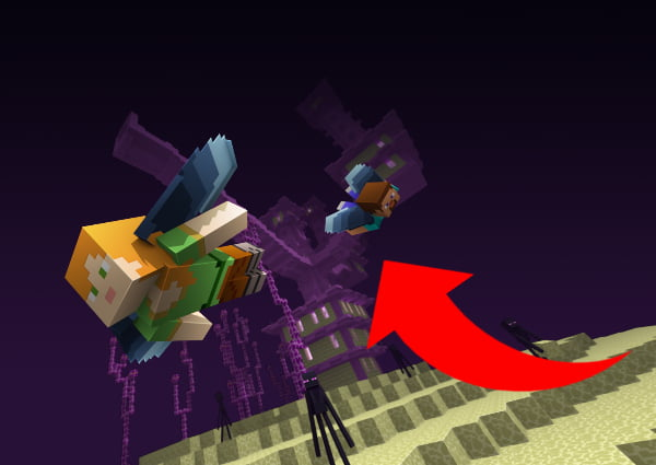 Cómo encontrar un pueblo de Minecraft: Vuelo