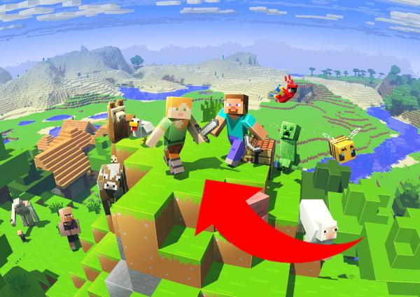 Cómo encontrar una aldea de Minecraft: bioma grande