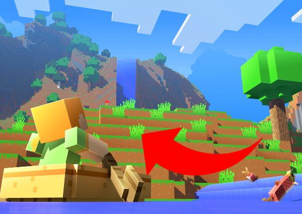 Cómo encontrar un pueblo de Minecraft: Paseo