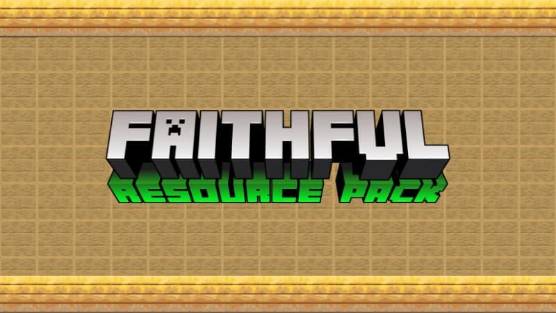 faithful minecraft bedrock