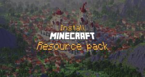 How to install a Minecraft resource / texture pack ?