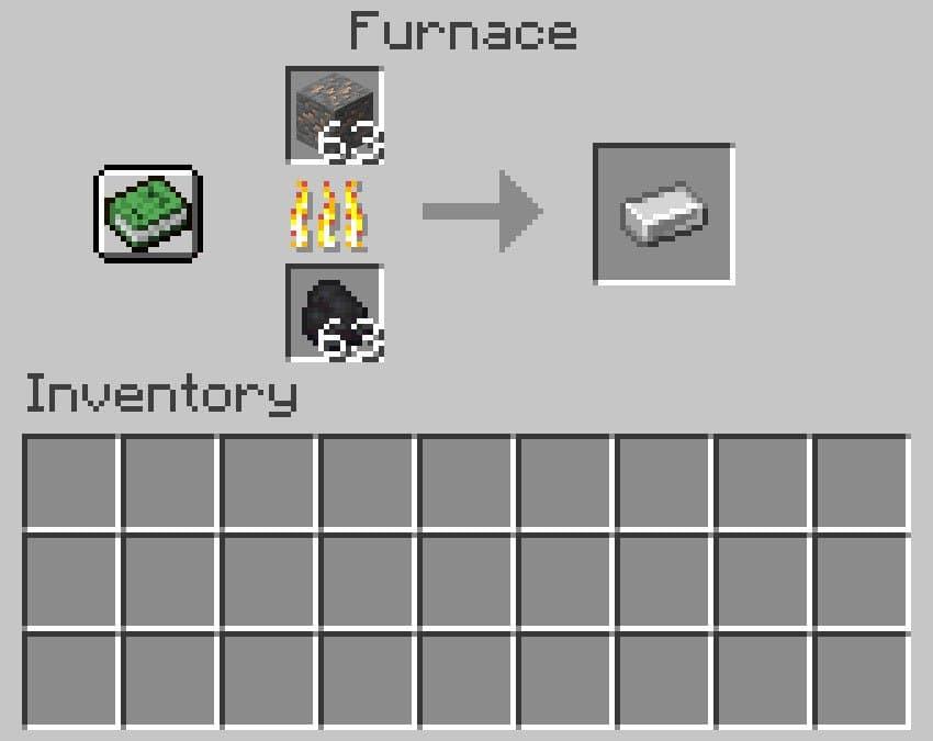 Fazer um lingote de ferro