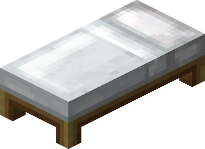 make a bed minecraft