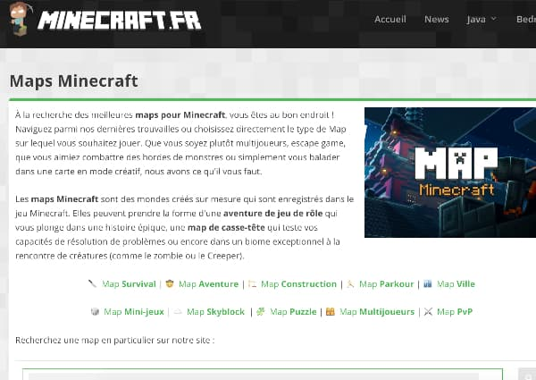 how to install map minecraft download