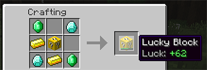 lucky crafting