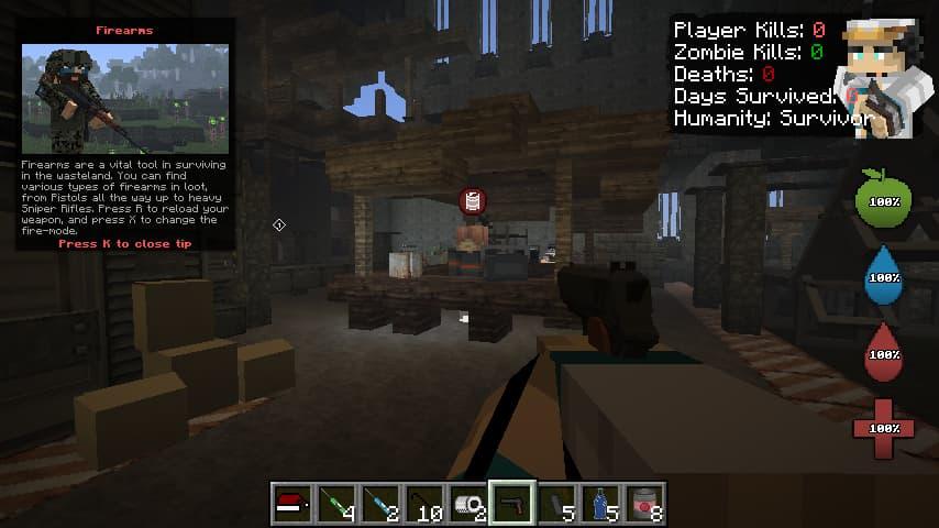 decimation mod minecraft start