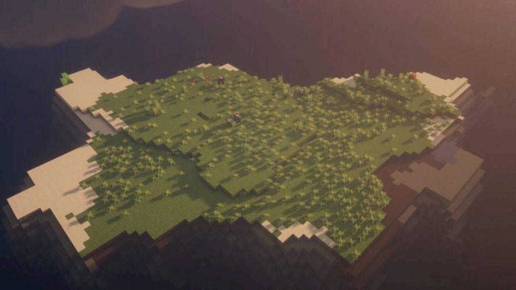 baumlose Insel