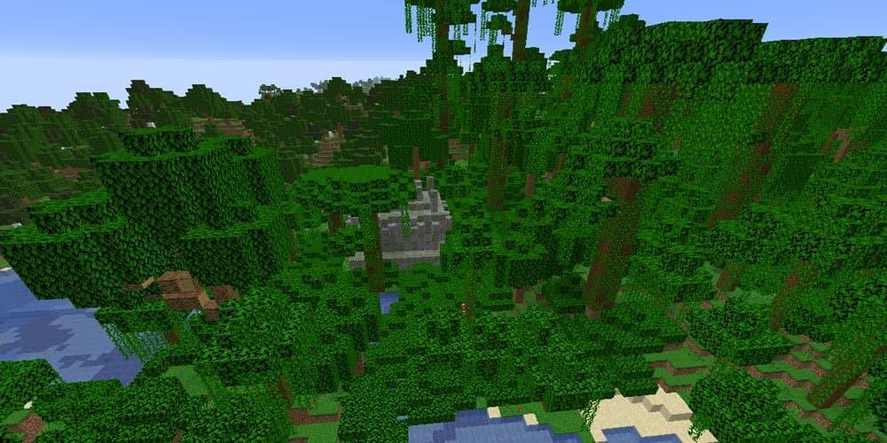 Dschungel und Tempel