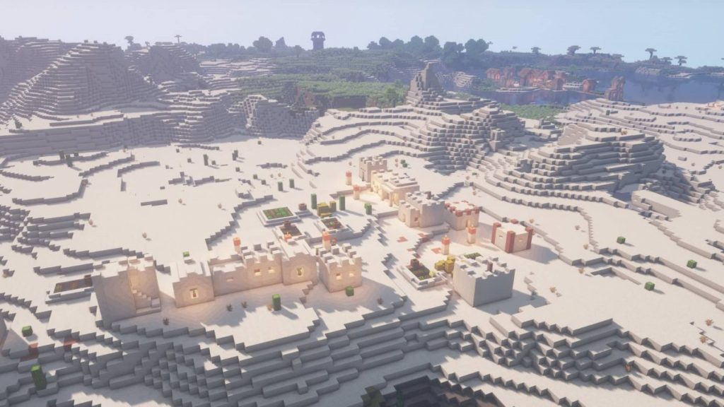 seed minecraft 1 16 two villages 1200x675 1